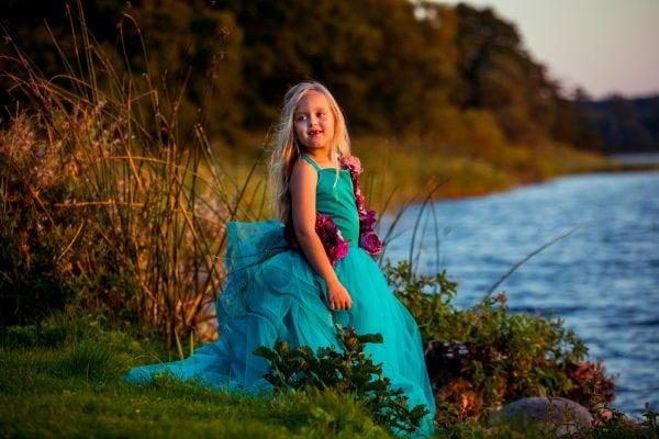 Couture-fotos for små piger