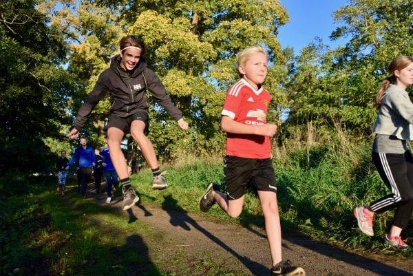 Sorø Privatskole løb efterårsferien igang