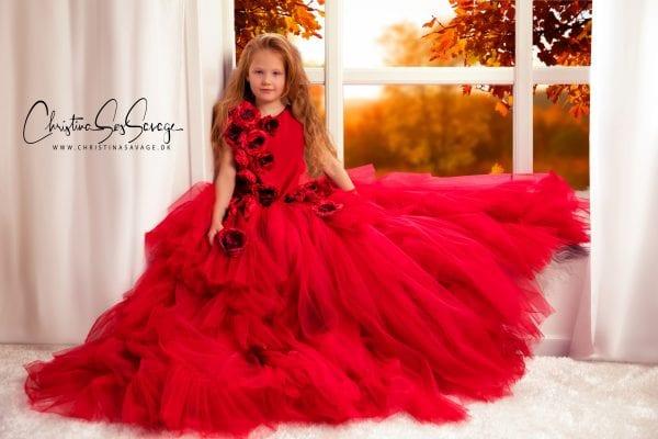 Skal din datter fotograferes i den skønneste julekjole?