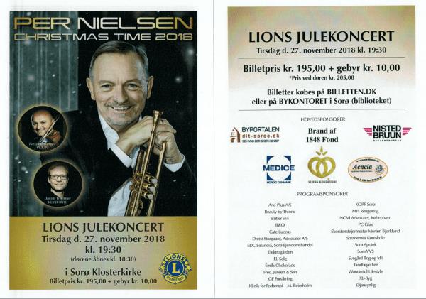 Julekoncert med trompetist Per Nielsen