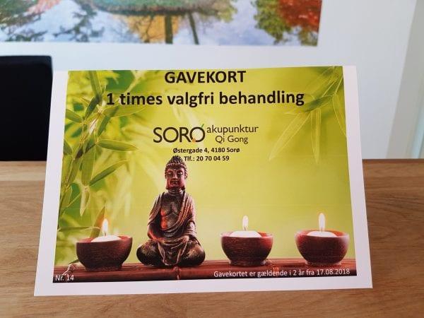 Køb julegaven hos Sorø Akupunktur og Qi Gong