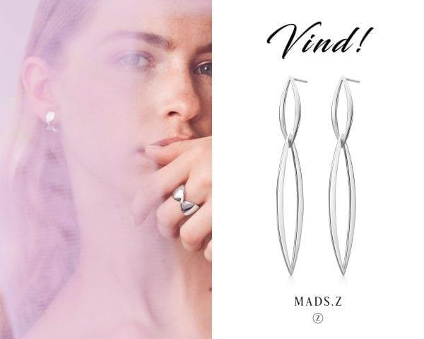 Vind smukke øreringe fra Mads Z