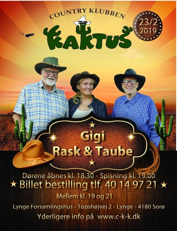 Gigi, Rask & Taube
