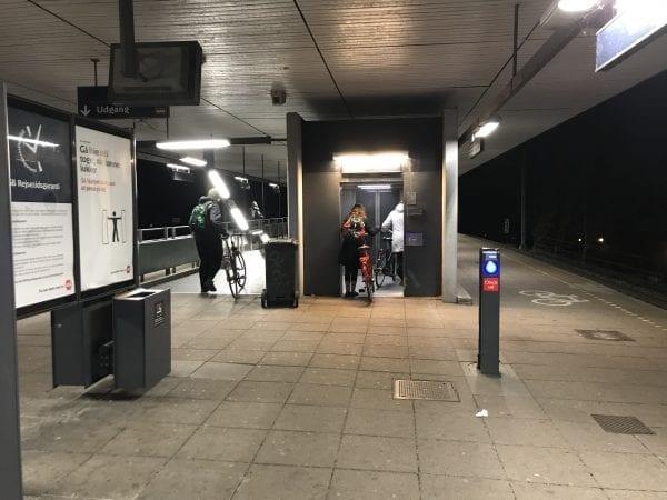 Banedanmark renoverer elevatorer på Sorø Station