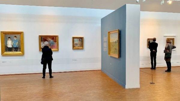 Festligt farvel til udstilling på Sorø Kunstmuseum