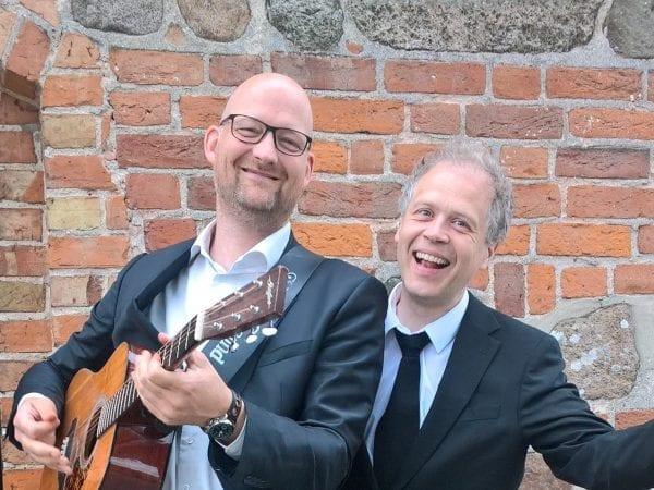 Kim Larsen-koncert med Klaus og Jesper - Stenmagle Sogn