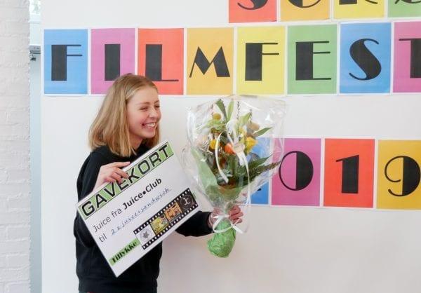 Elever afholdte filmfestival