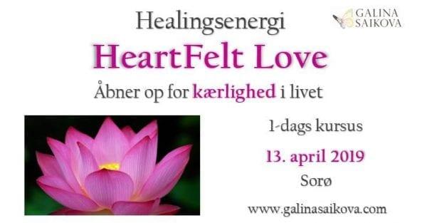 Healingskursus - HeartFelt Love
