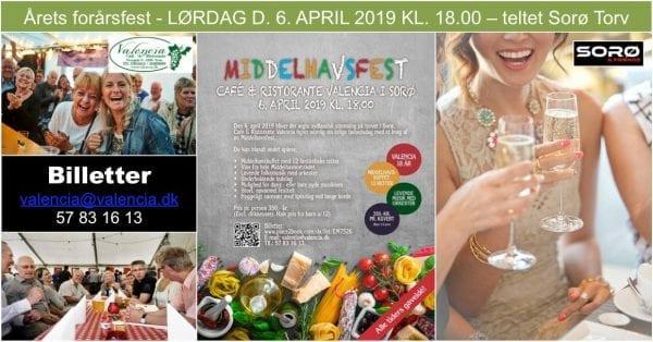 Middelhavsfest på Sorø Torv