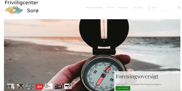 Frivilligcenter Sorø har fornyet deres hjemmeside