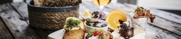 Prøv Restaurant Tee-Stedets påskeplatte