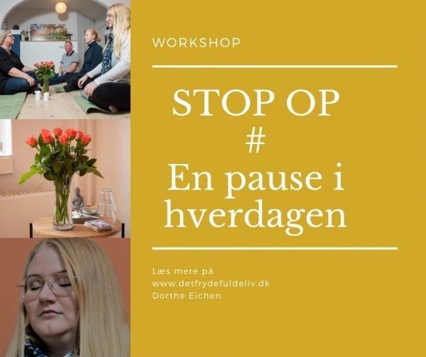 STOP OP - En pause i hverdagen