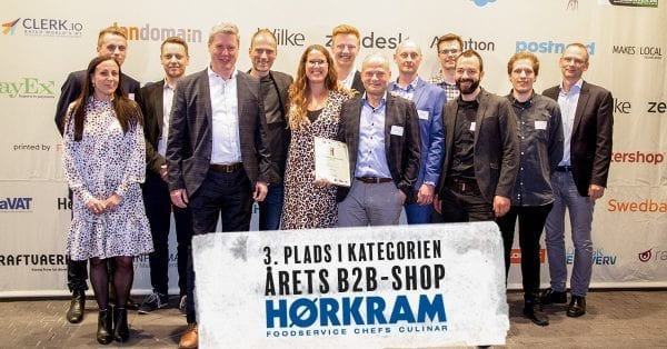Danmarks 3. bedste B2B-webshop