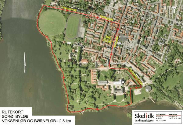 Afspærringer grundet Byløb og Slaraffen