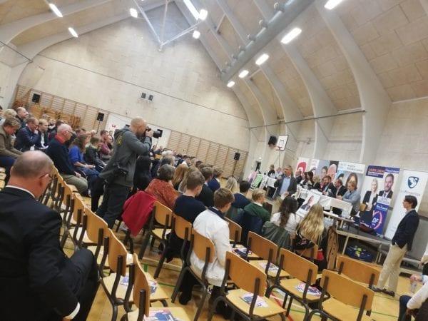 Valgkamp på Sorø Akademi