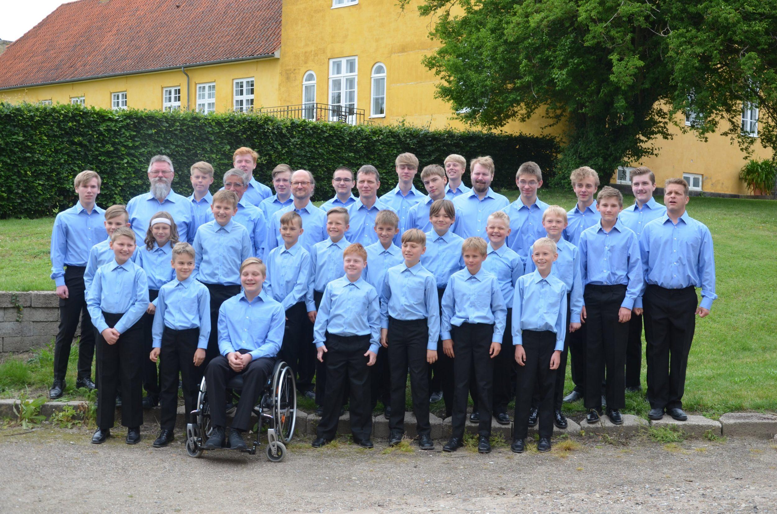 Aftensang i Sorø Klosterkirke på fredag