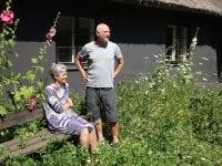 Rikke og Niels på Katrinelunden. Foto: Mette Skjoldan