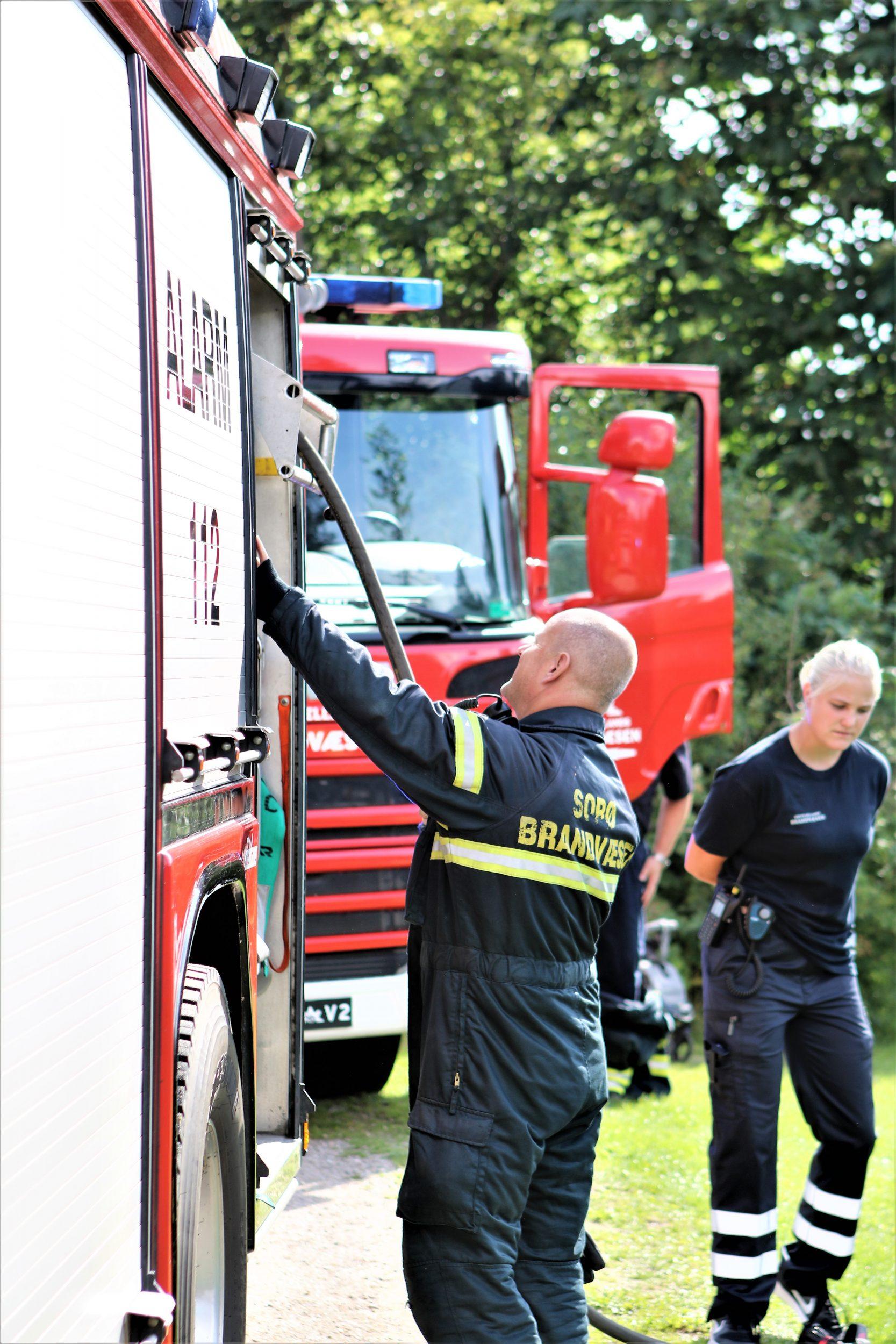 Pas på - høj brandfare