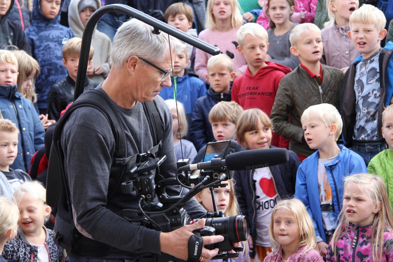 Lokalt erhvervsliv hjælper Sorø Privatskole med ny skolefilm