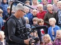 Foto: Sorø Privatskole En solrig dag i september optog en videofotograf Sorø Privatskoles nye film, der viser dagligdagen med elever og medarbejdere.