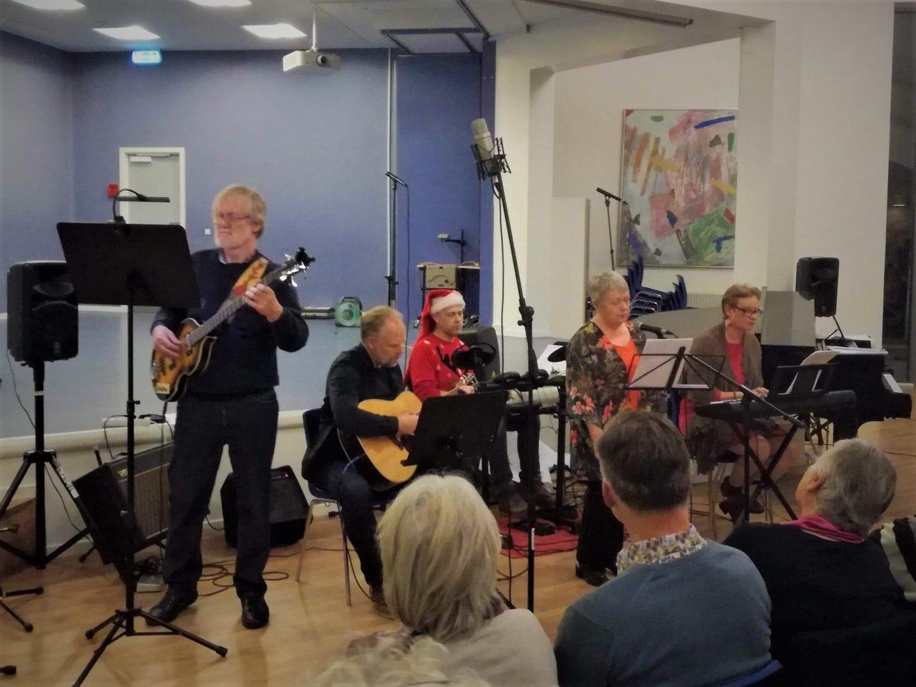 Julekoncert med aftenskoleelever fra Sorø