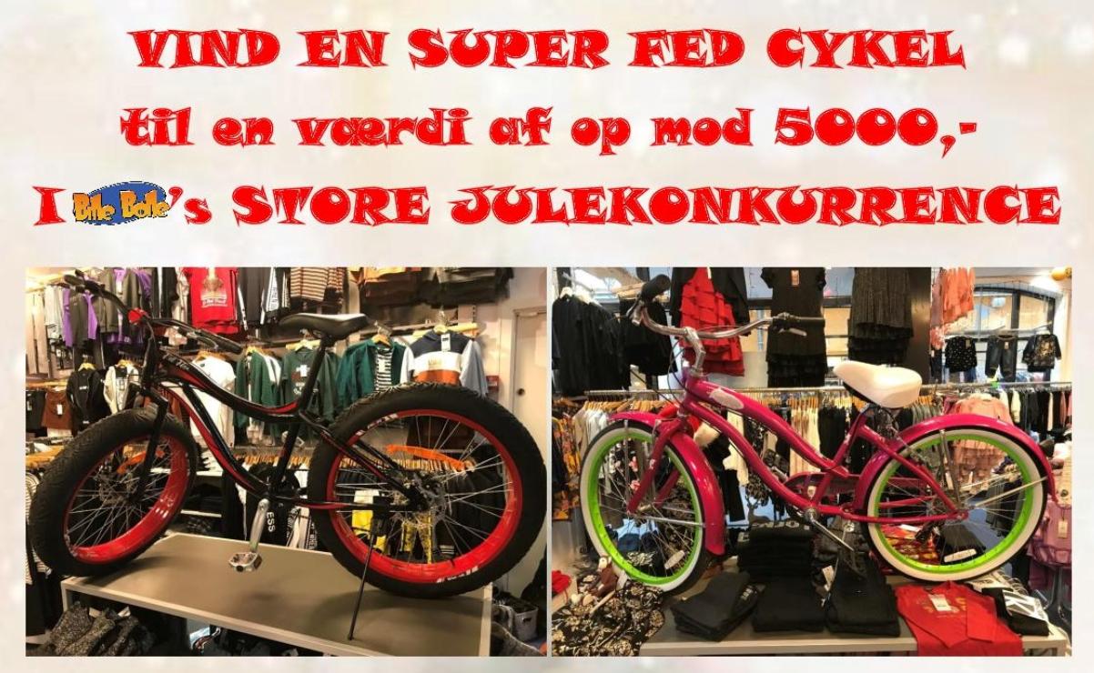 Vind gavekort og megafed cykel