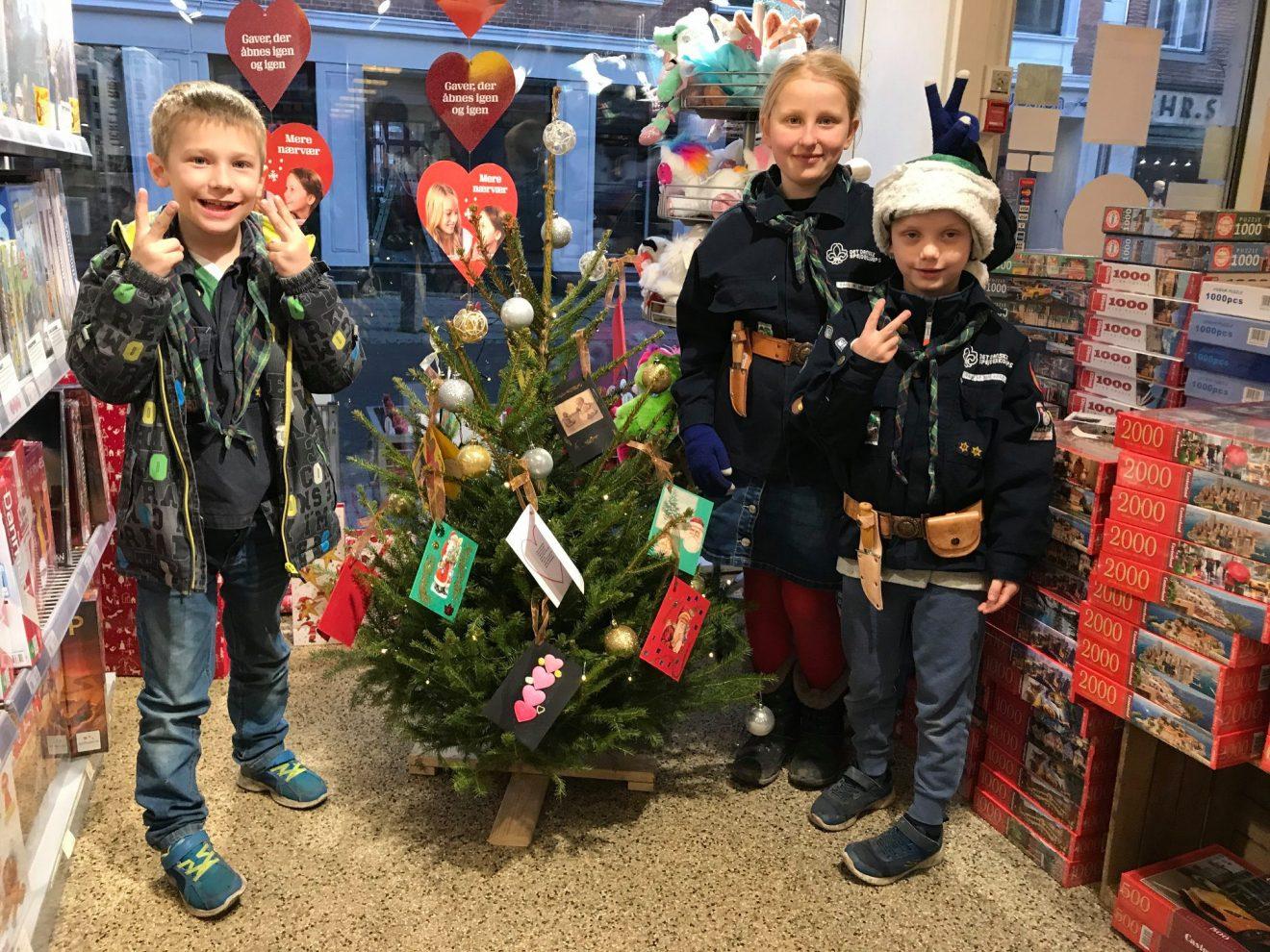 Mødrehjælpen har åbnet Ønsketræet i Sorø