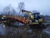 RN entreprenører bygger broer