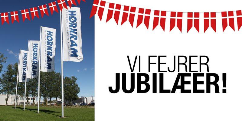 Jubilæms-fejring hos Hørkram