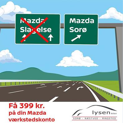Godt tilbud til Mazda-ejere