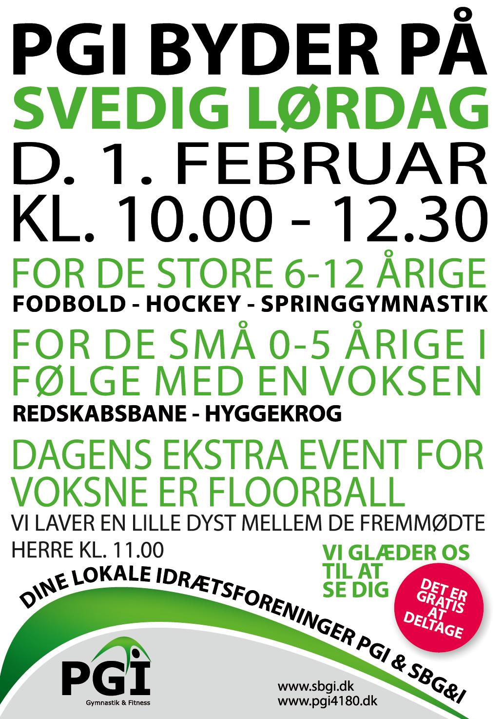Svedig lørdag i Pedersborg Hallen