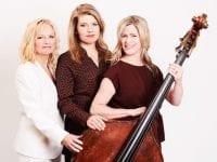 En vildtvoksende nyskabelse i vinterjazzen er en koncert med tre syngende kontrabassister. Det er på Café Tre Konger fredag den 28. februar. Pressefoto.