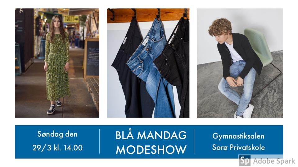 BLÅ MANDAG MODESHOW