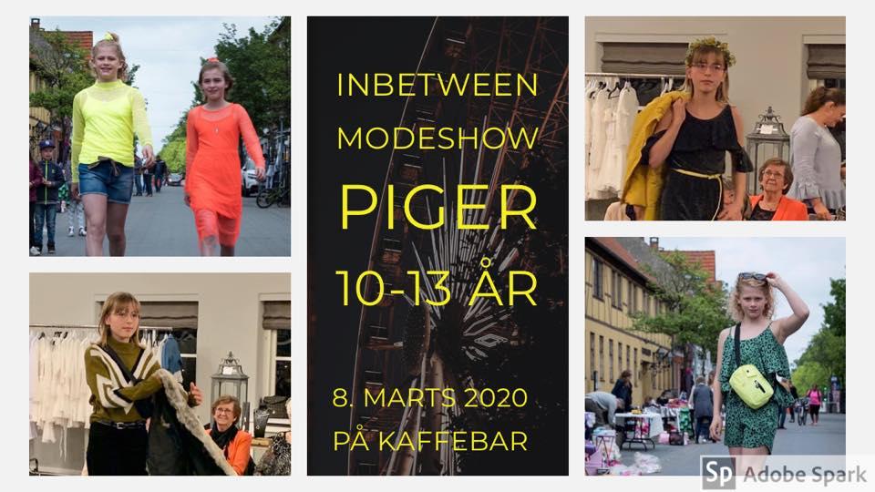 Modeshow for tweenspiger