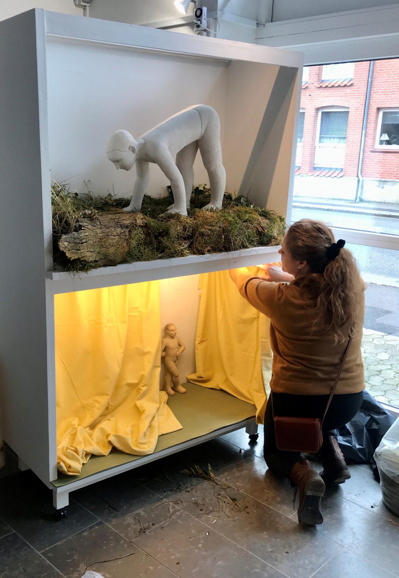 Ny kunst i BOXEN på Udstillingsstedet.dk