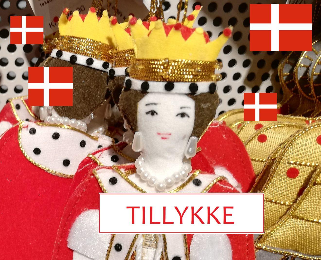 Flag for Dronningen