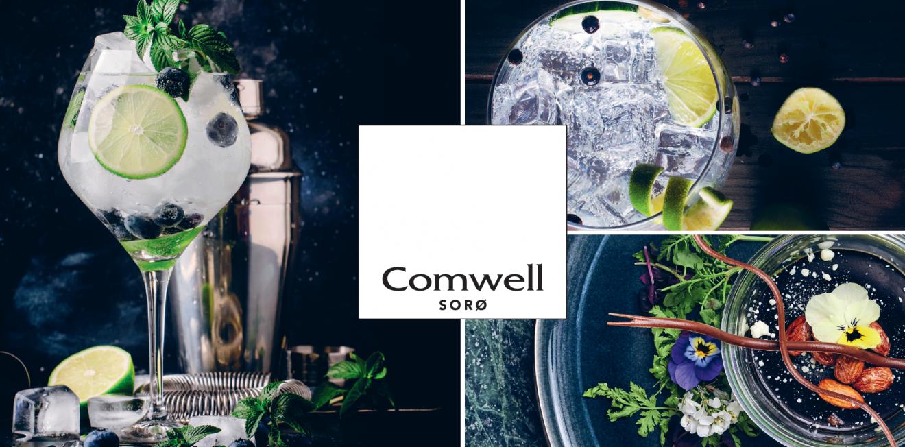 Gin Makers Dinner på Comwell