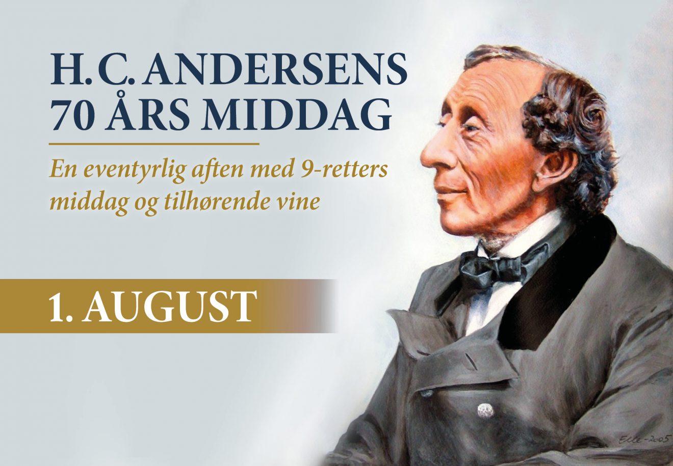 Kragerup Gods genskaber H. C. Andersens fødselsdag