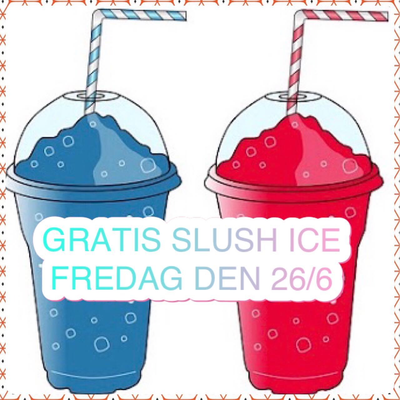 INbetween byder på gratis slush ice