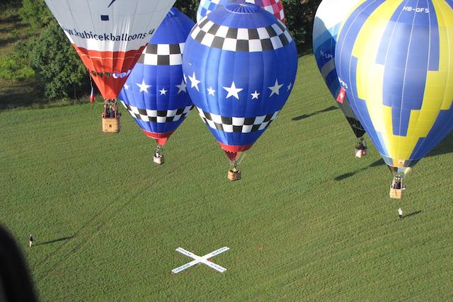 Ballonflyvning hos Birkemosehus