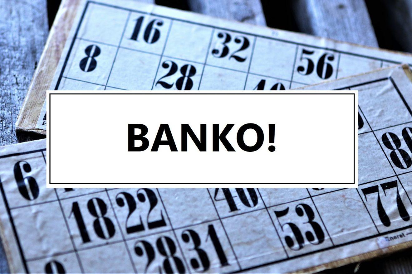 Så er der igen bankospil